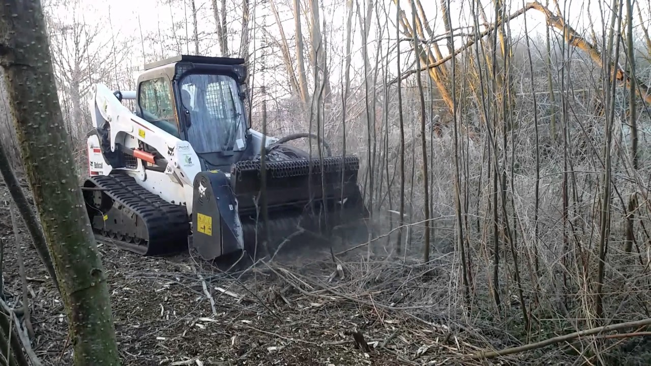 Forestry Cutter Bobcat