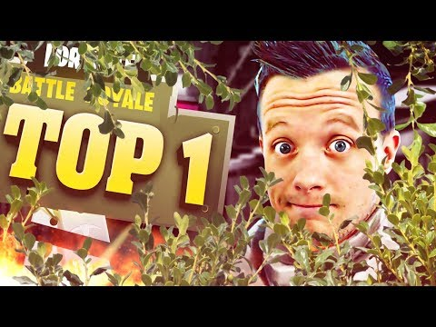 L'HOMME BUISSON TOP 1 - FORTNITE