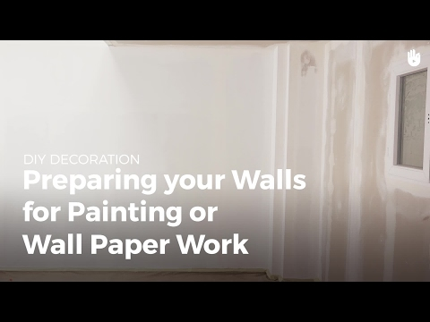 How to Prepare a Wall for Paint or Wallpaper | DIY Projects