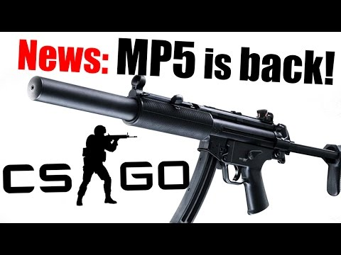 CS:GO - MP5 coming back! Upcoming Content of Counter-Strike MP5SD