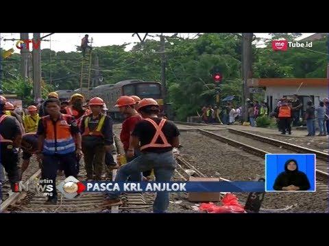 Pascainsiden KRL Anjlok, Perbaikan LAA dan Jalur Rel Dikebut - BIS 11/03