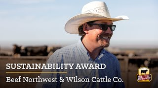 2020 Certified Angus Beef Sustainability Award: Wilson Cattle Co. & Beef Northwest