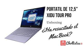 ¿Quieres un MacBook con Windows? Unboxing del XIDU Tour Pro el portátil más parecido
