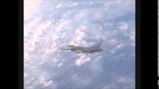 F16  ( Avion de chasse) Pré-animation (test)   - 3D