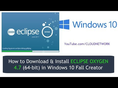 How to Download & Install ECLIPSE OXYGEN 4 7 (64-bit) in Windows 10