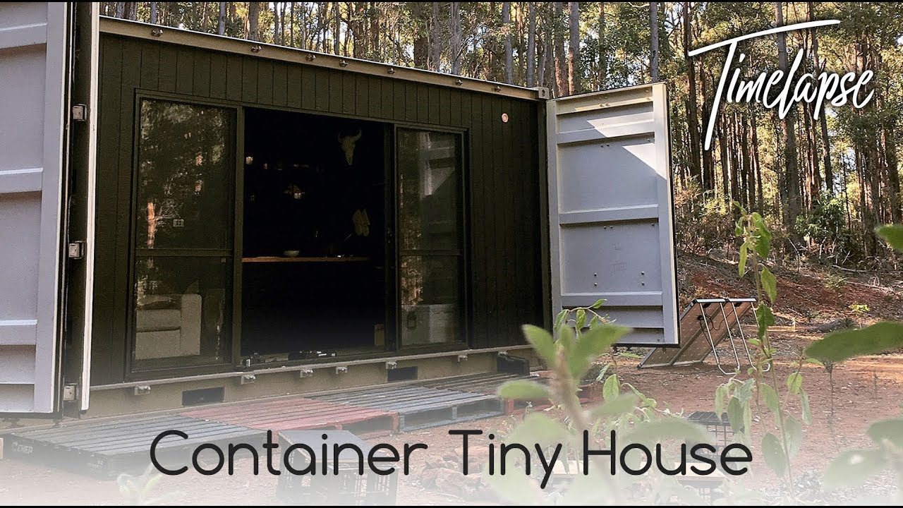 Container Transformation Tiny House Start To Finish