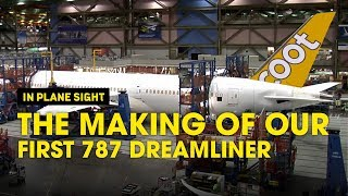 1st Boeing 787 Dreamliner Time-lapse Video - Scoot