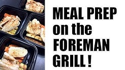 MEAL PREP on the Foreman Grill! | Fish & Veggies