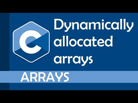 How to use dynamically allocated arrays