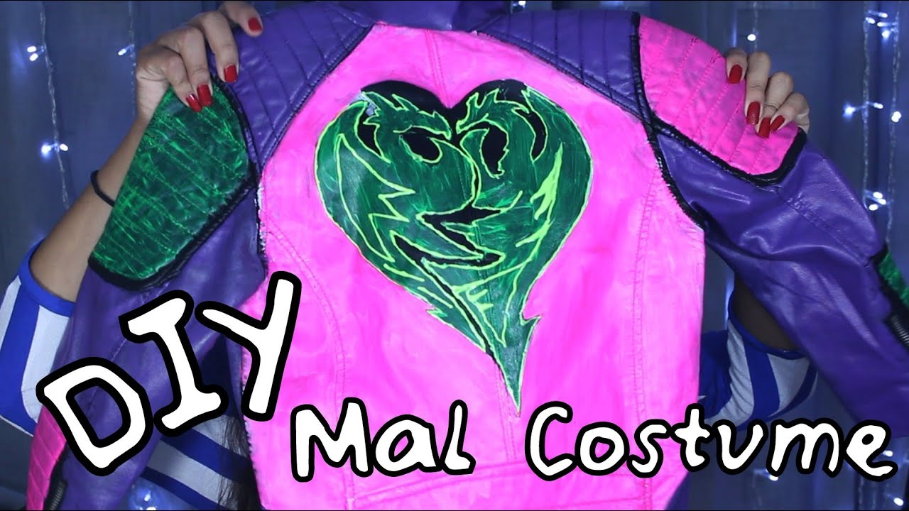 DIY Mal's Jacket from Disney Descendants | Vanessa Jhoy