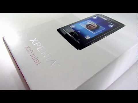 Desempaque del Sony Ericsson Xperia X10 Mini (Español)