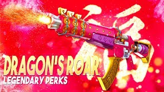 piercing boii full legendary perks dragon s roar fortnite save the world - fortnite dragons roar or dragons might