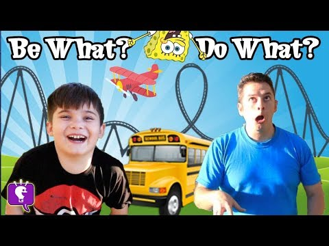 Play It Out Challenge! HobbyKids Make Up Creative Ideas