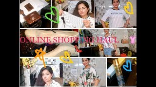 Clothes, Shoes, Bag, Perfumes, Accessories Haul   Online Shopping   thelifesheloved  Sana K