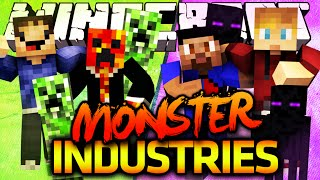 POOFLESS vs VIKKLAN - Minecraft MONSTER INDUSTRIES