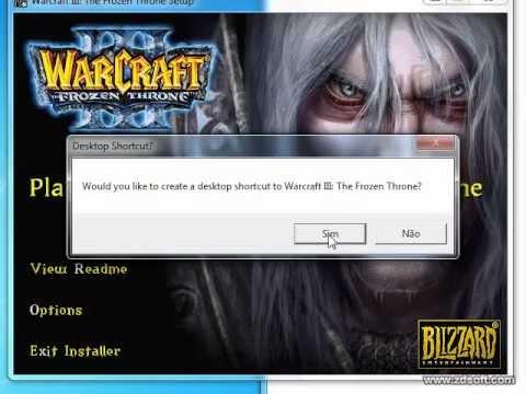 Como instalar Warcraft 3 por Daemon Tools e jogar sem CD