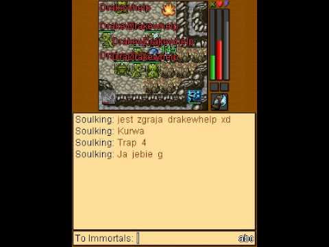 TibiaME: Soulking (lv86) VS Arkanis (Dragon King).