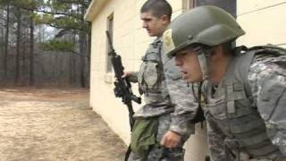 US Army Basic Training Fort Benning Part 3, Gas Chamber