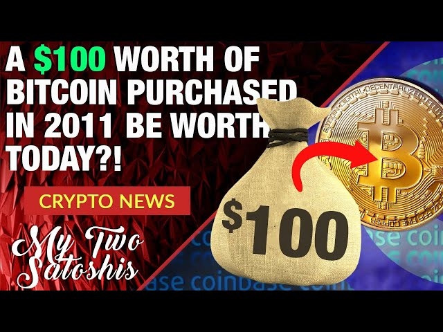 $100 Worth of Bitcoin Bought in 2011 Would be Worth Whaaat??! + Stripe Getting Back Into Crypto