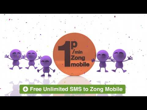 Call Pakistan at just 1P/Min - Zong Mobile Offer