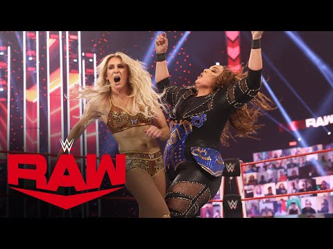 Charlotte Flair & Asuka vs. Nia Jax & Shayna Baszler: Raw, Feb. 22, 2021