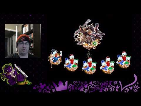 Kingdom Hearts Union X: Super Nova Terra, Aqua, And Ventus Trio Medal Trait Rolls And PvP Showcase!