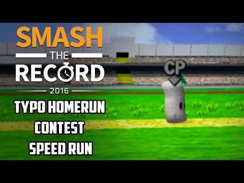 STR2016 SSBM - Typo's Homerun Contest Speedrun