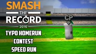 STR2016 SSBM - Typo's Homerun Contest Speedrun