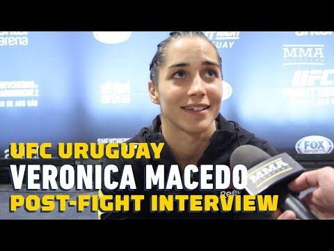 UFC Uruguay: Veronica Macedo Talks Picking Up First UFC Win, Crisis In Venezuela, More