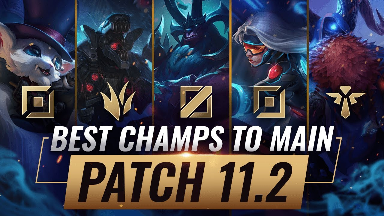 3 Best Champions To Main For Every Role In Patch 11 2 League Of Legends Youtube