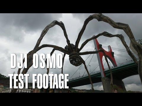 Dji Osmo Spain Footage Review - Guggenheim Museum Bilbao