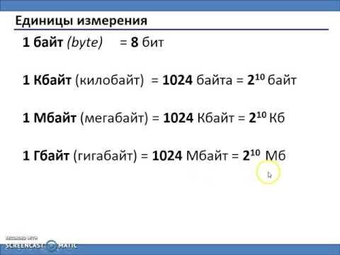 Как измерить объем информации