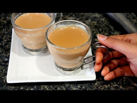 Indian Tea/ Chai - Ginger and Cardamom Tea Recipe