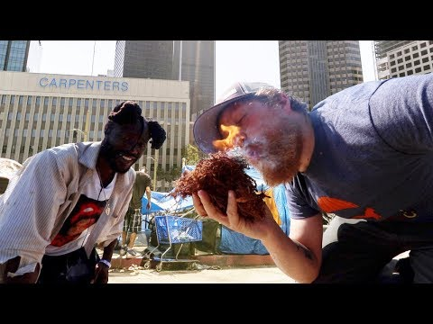"""Survival in the City with a Homeless Man """"kNOw CA$H""""  (Vlog #23)"""