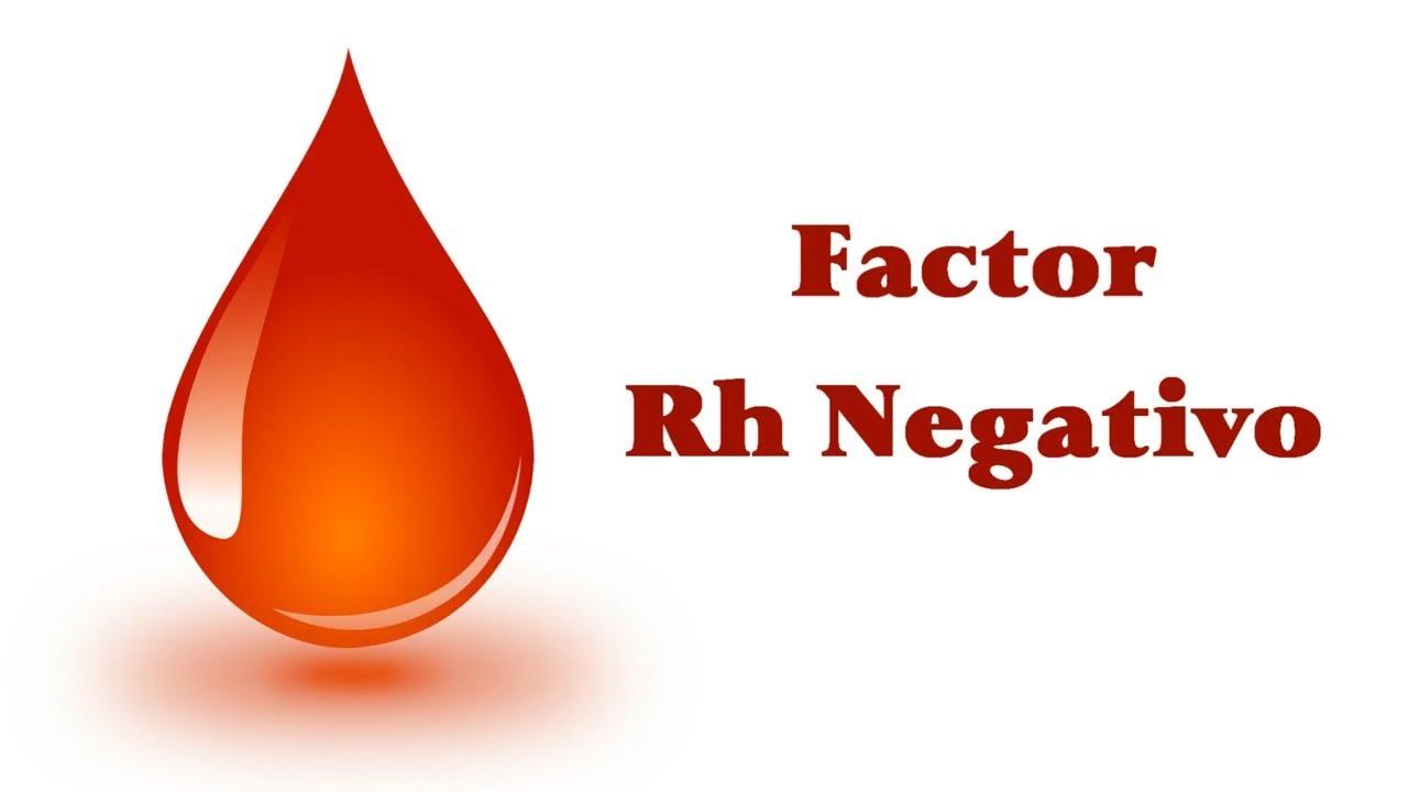 grupo de sangre 0 rh negativo