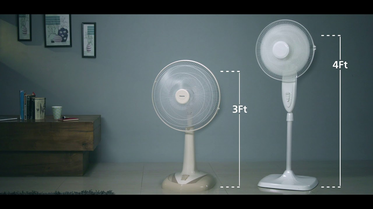 Panasonic Slide Pedestal Fan