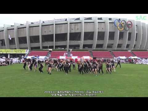 seoul,  Korea, SAC 2014 group dance !!!