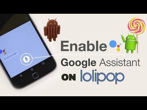 TRANSPARENT TECHNOLOGY : how to install google assistant in lolipop