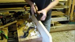 Wooden Rabbet 18th Century Style Moulding Plane By Caleb James