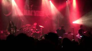 The Haunted-The Drowning live in Athens 22-10-2011