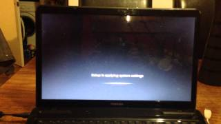 How to restore a Toshiba Satellite,windows 7.64 bit. ( part 2 )