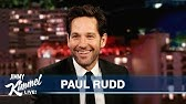 Paul Rudd on Ant-Man, Ghostbusters & Living in New York