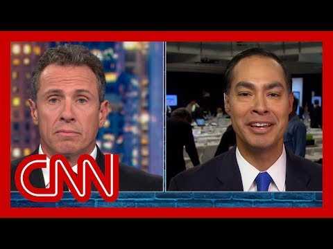 Cuomo to Julian Castro: Do you regret attack on Joe Biden?
