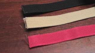 Webbing Planners, Part 1: Basic DIY Webbing Materials & Hardware