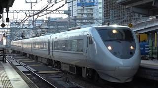 JR西日本681系0番台 W02編成 (特急しらさぎ3号金沢行き) 名古屋入線