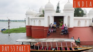 The Lake Palace of the King in Tripura    DAY 53 Part 1