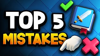5 Mistakes I Made in Clash Royale | CWA Mobile Gaming Subscribe to ...