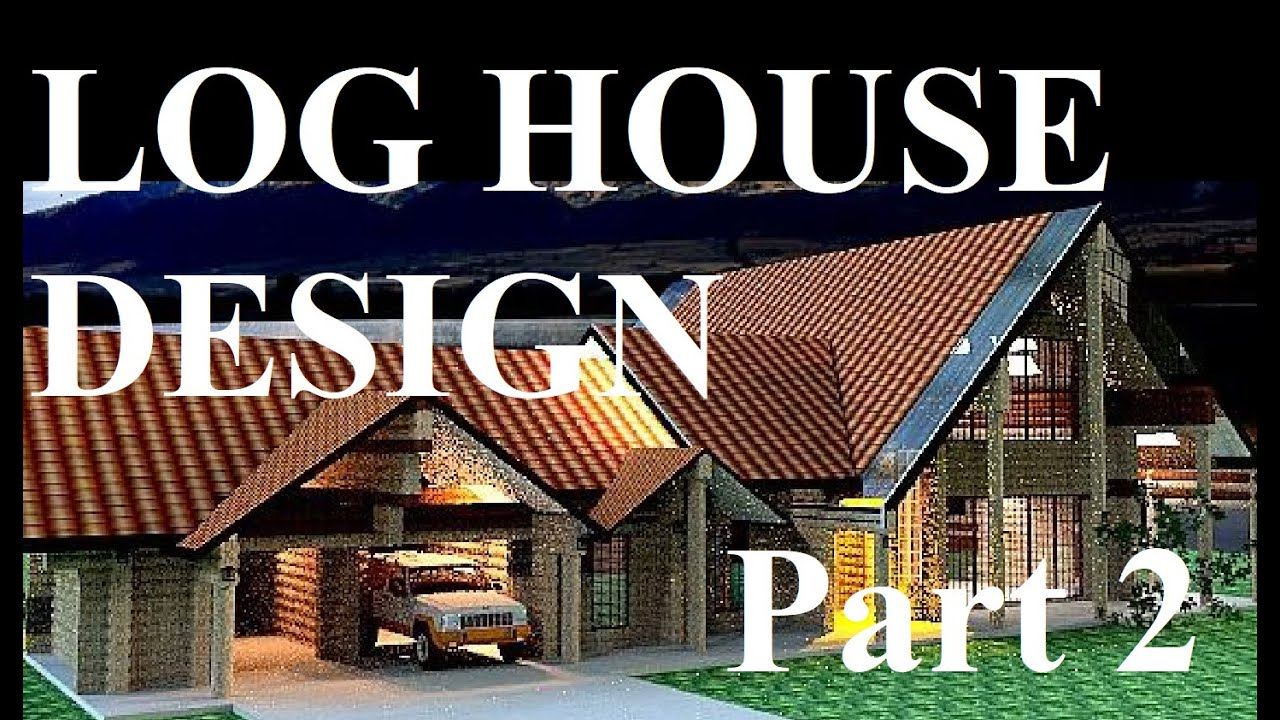 How To Build A Log House Foundation Youtube