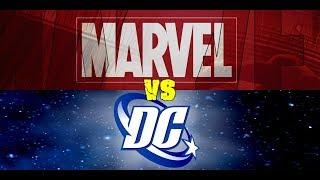 MARVEL VS DC!!!??? I Marvel