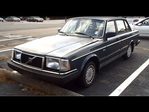 1987 Volvo 240 DL Walkaround - YouTube